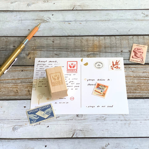 Cherry Blossom Stamp // MINI