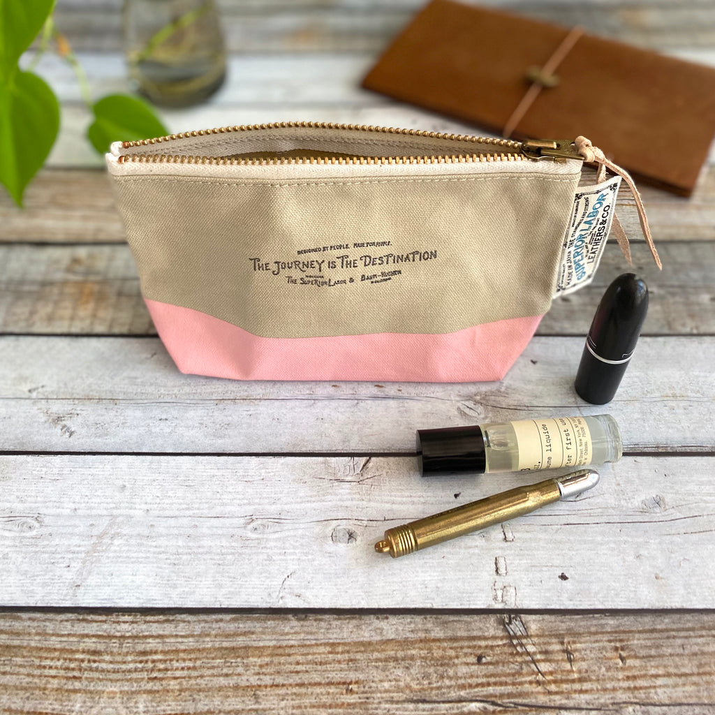 Engineer Pouch MINI || Rose Latte