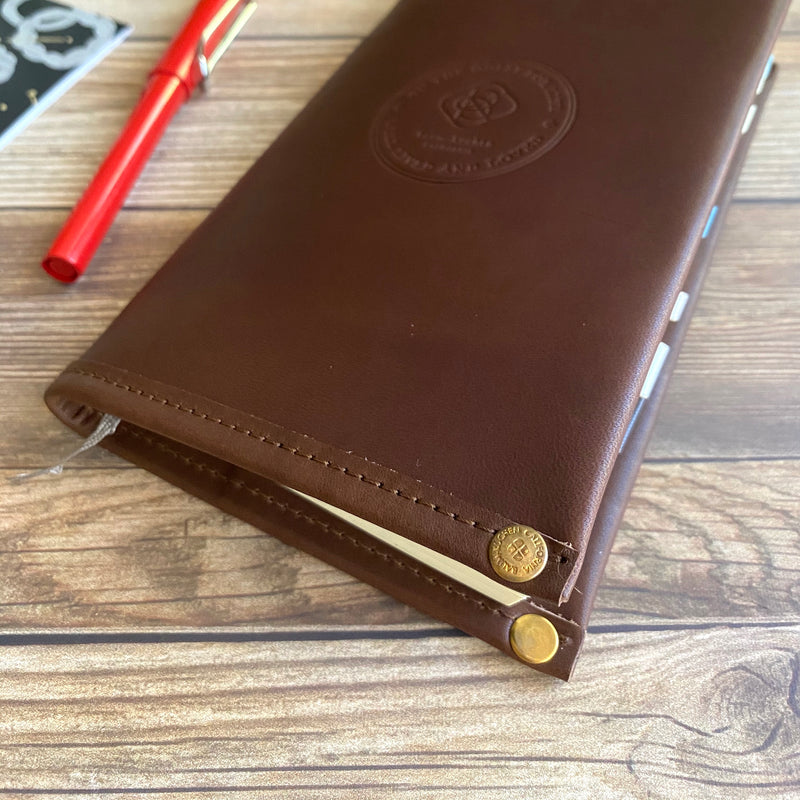 B6 Slim // All Leather Notebook Cover