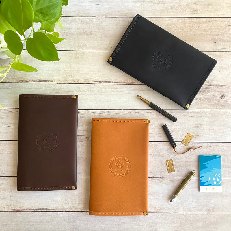 A5 Slim // All Leather Notebook Cover