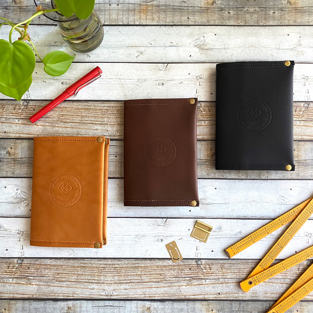 A6 Notebook Cover // All Leather