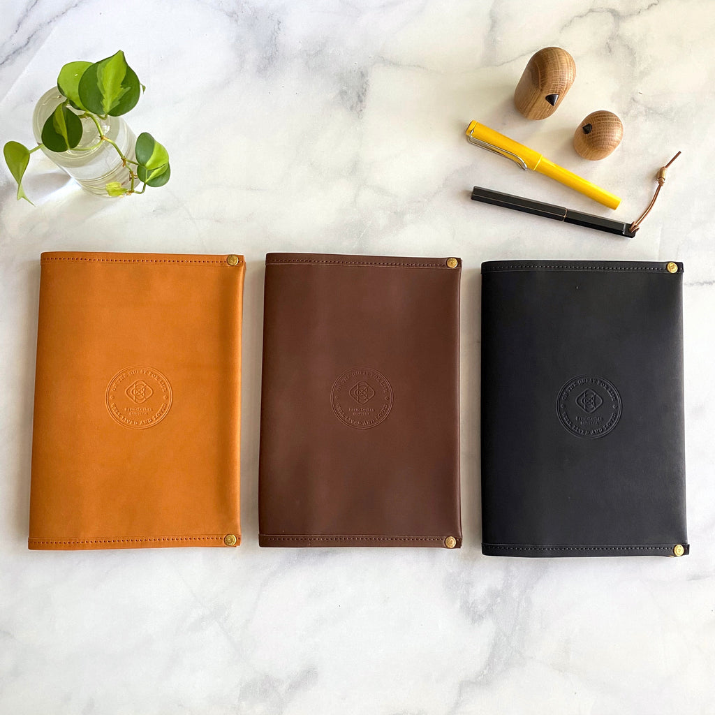 A5 Notebook Cover // All Leather