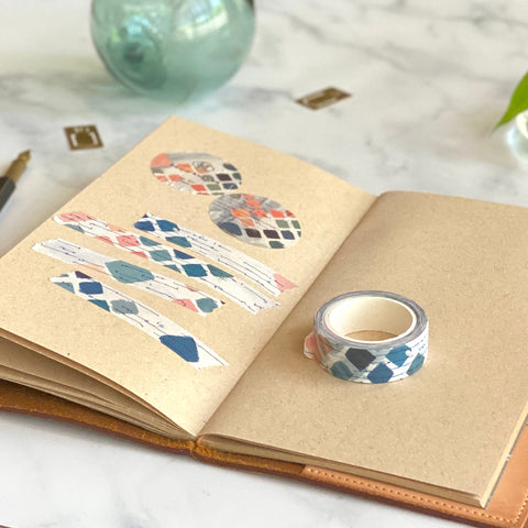 Porcelain Memo Card Holder