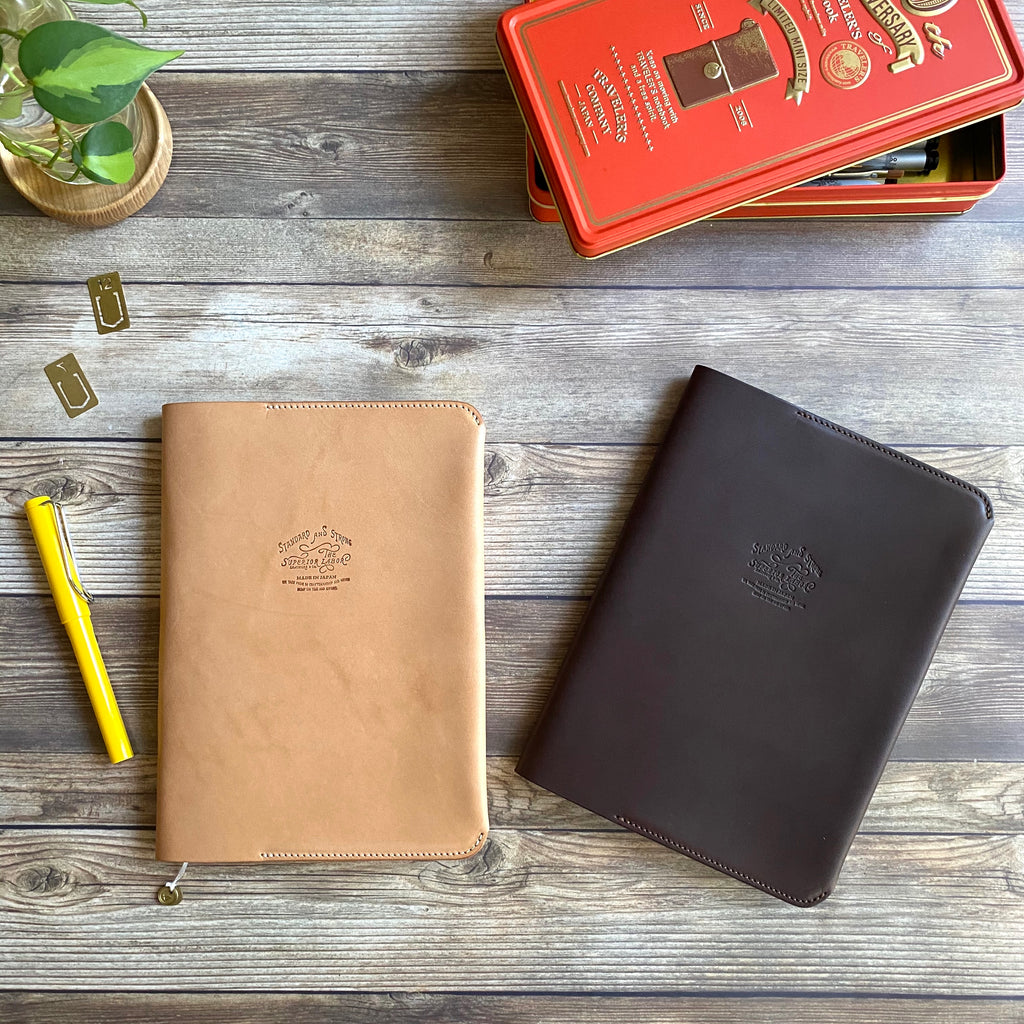 TSL Original Leather Notebook Cover