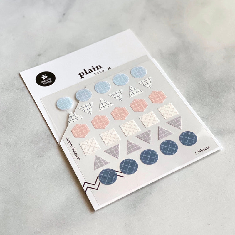 stickers // plain.07 geometric