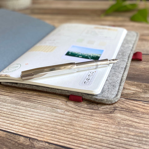 A6 Notebook Cover // Shoreline