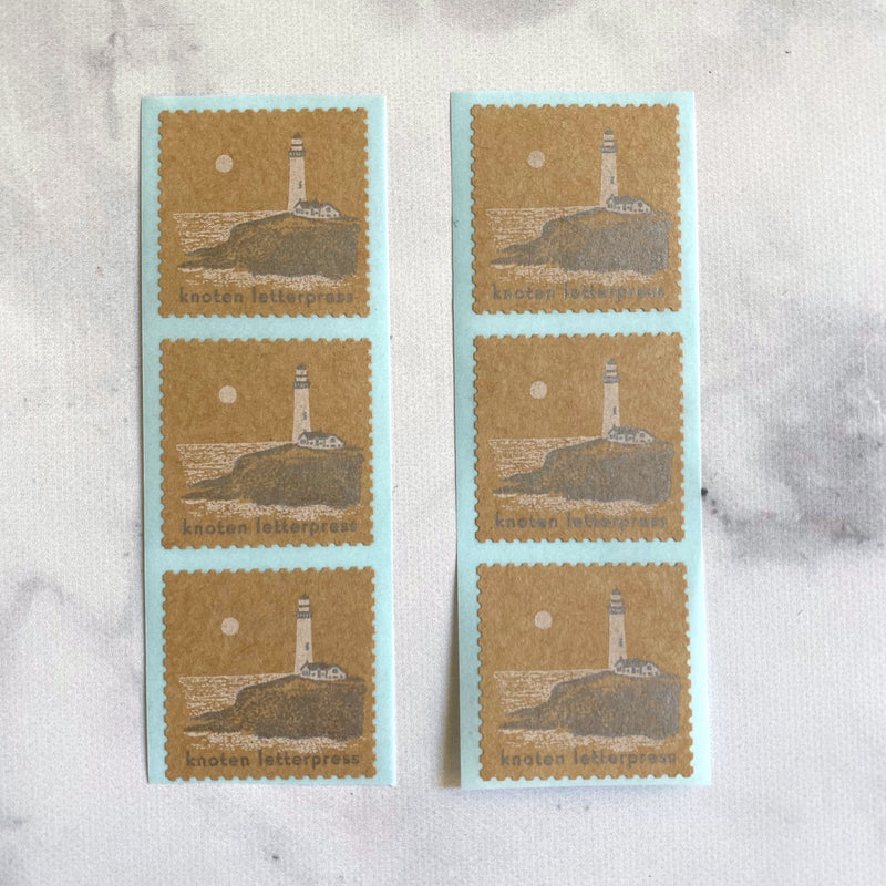 Postage Sticker // Lighthouse