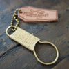 Brass Key Chain Ring