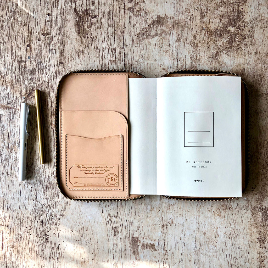 Leather Zip Organizer (A5 size) [SS19 PRE-ORDER]