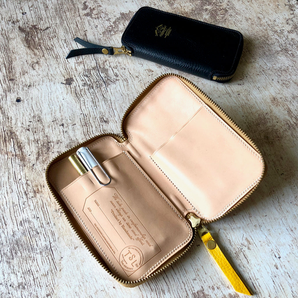 Leather Zip Pen Case [SS19 PRE-ORDER]