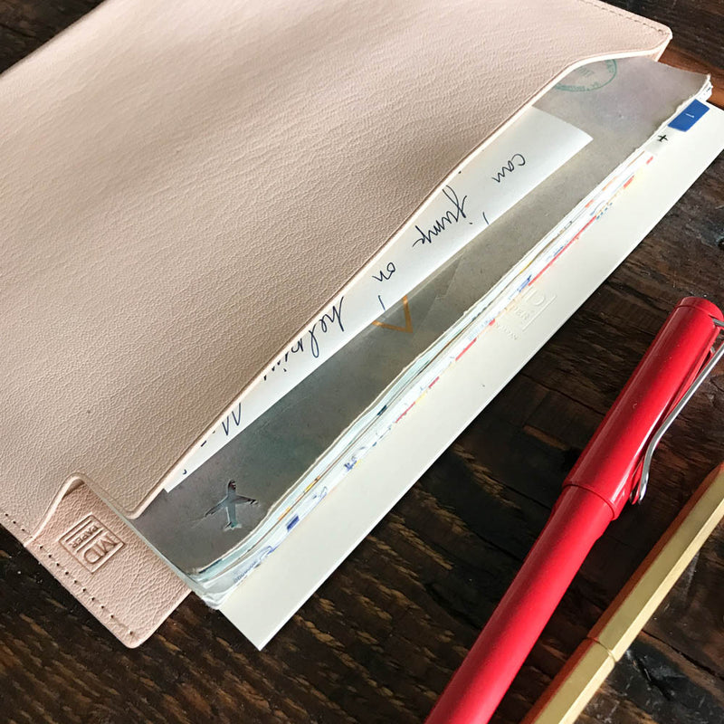 MD Leather Folder / Horizontal