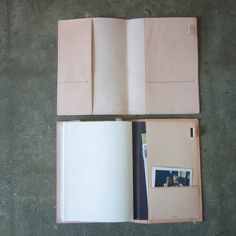 MD Notebook Leather Cover