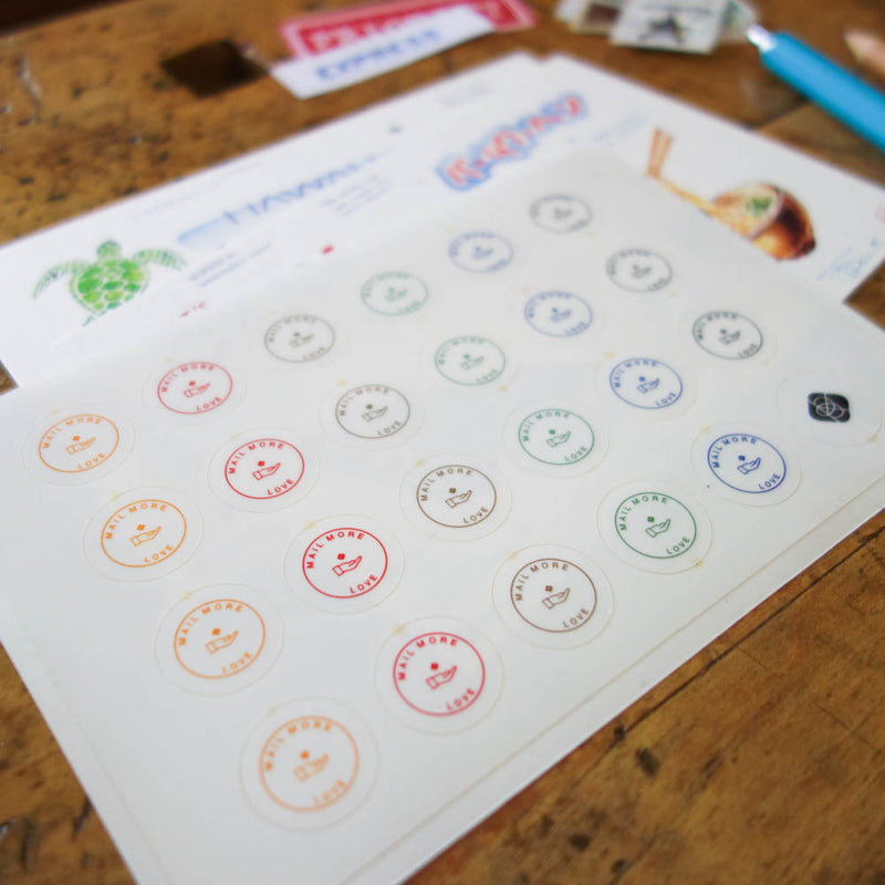 Planner Sticker / Mail more LOVE