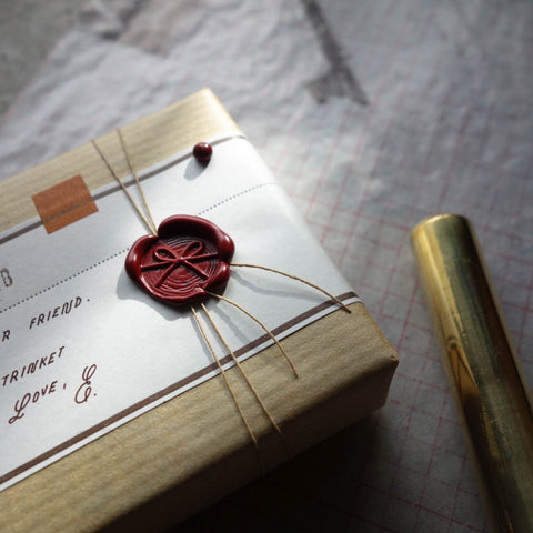 "Wax Seal Stamp / ""Mizuhiki Ribbon MINI"" by The Daily Roe"
