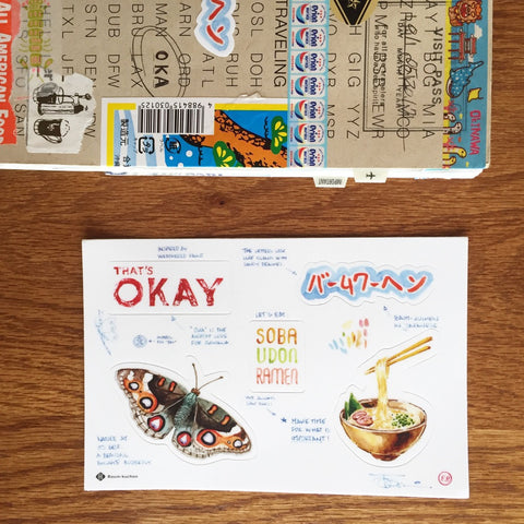 BK Travel Stickers / Okinawa, Japan