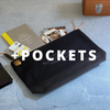 Engineer Pouch w/ Pockets || Black [PRE-ORDER]