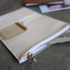 [Essential] PASSPORT goat leather zipper case / card holder / wallet
