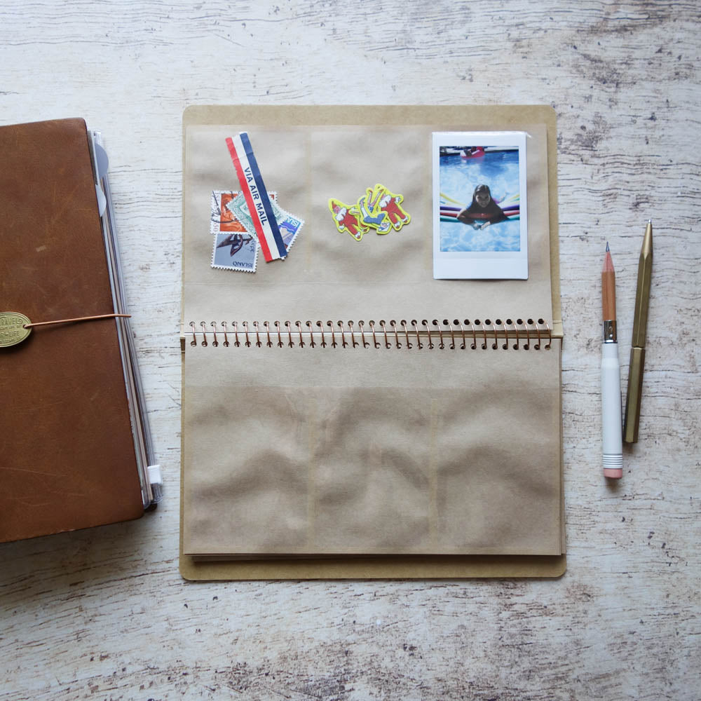 Pelican Spiral Notebook with Clear Pockets