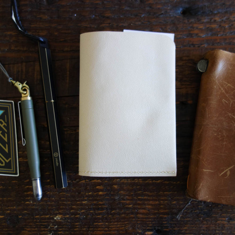 [Portfolio] PASSPORT goat leather folder