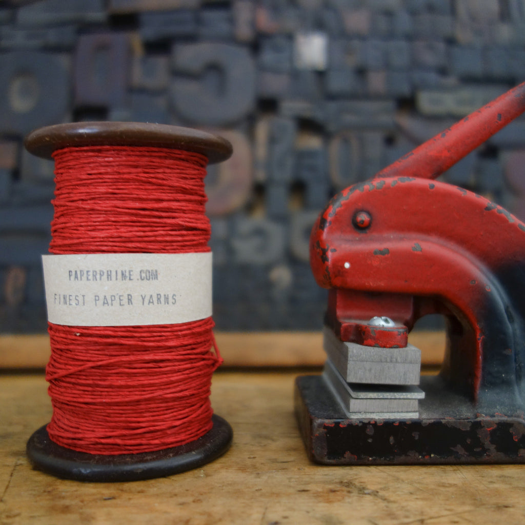 Paper Twine: Red