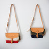 TSL Paint Small Shoulder Bag / Natural canvas [CUSTOM ORDER]