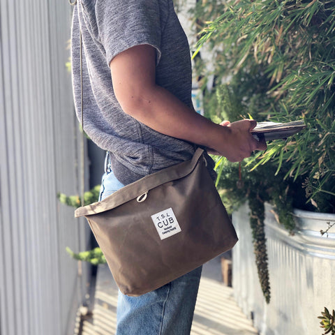 TSL TOTE Bag with Beige Canvas [Custom Order]