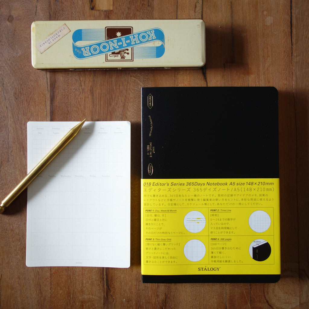 STALOGY 365 Days Notebook