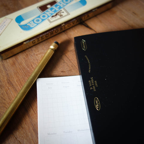 [KLEIDxLIFE] A5 Noble Grid Notebook