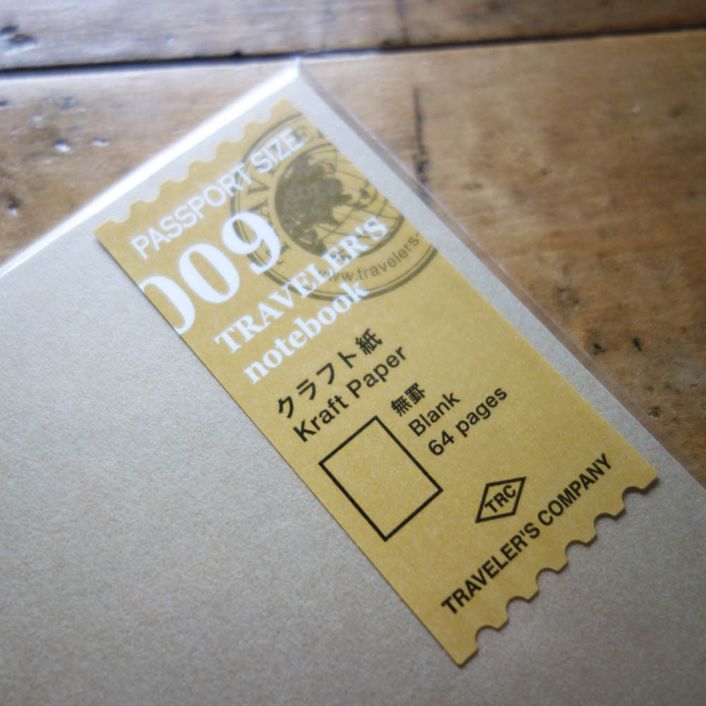 TN PASSPORT Refill / 009 / Kraft