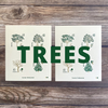 Postage Stamp Seal // Trees