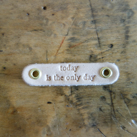 "[Baum-kuchen Charm] ""today is the only day"""