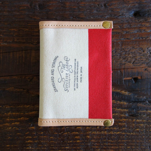 Travel for Life Wallet // All Leather