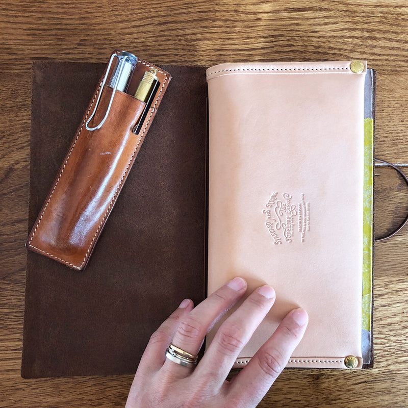 Travel for Life Wallet // All Leather [PRE-ORDER]
