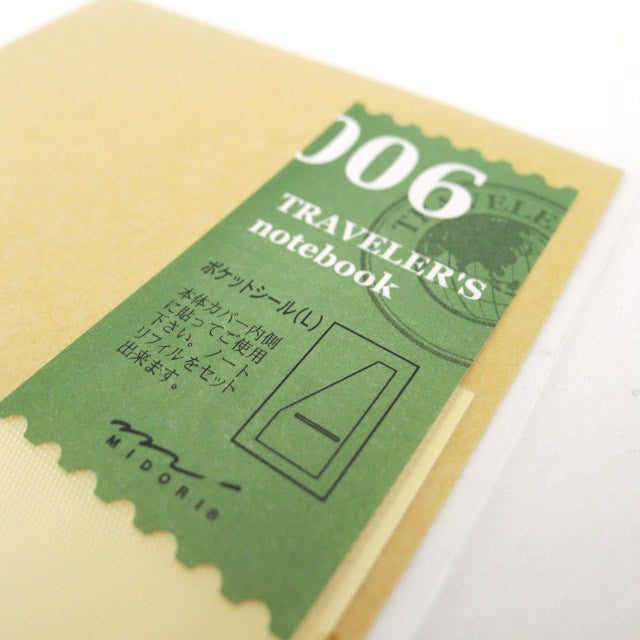 TN Refill / 006 / Pocket Sticker (L)