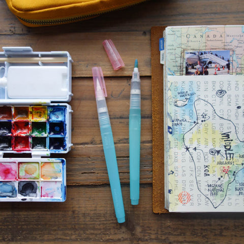 Watercolor Travel Kit