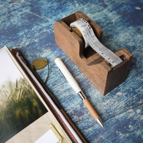 Classiky Wooden Tape Dispenser