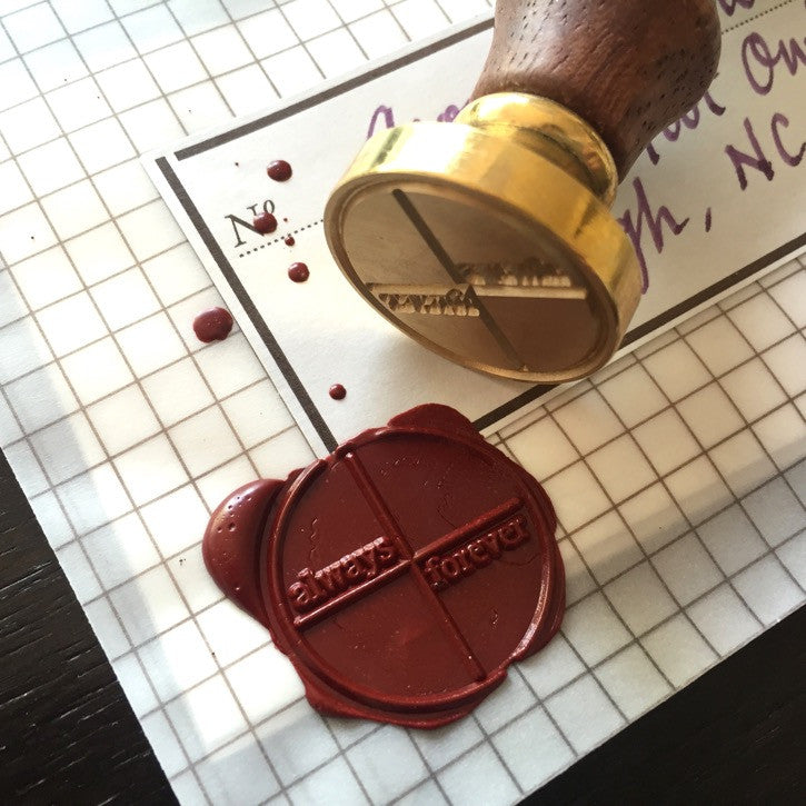 "Wax Seal ""always + forever"""