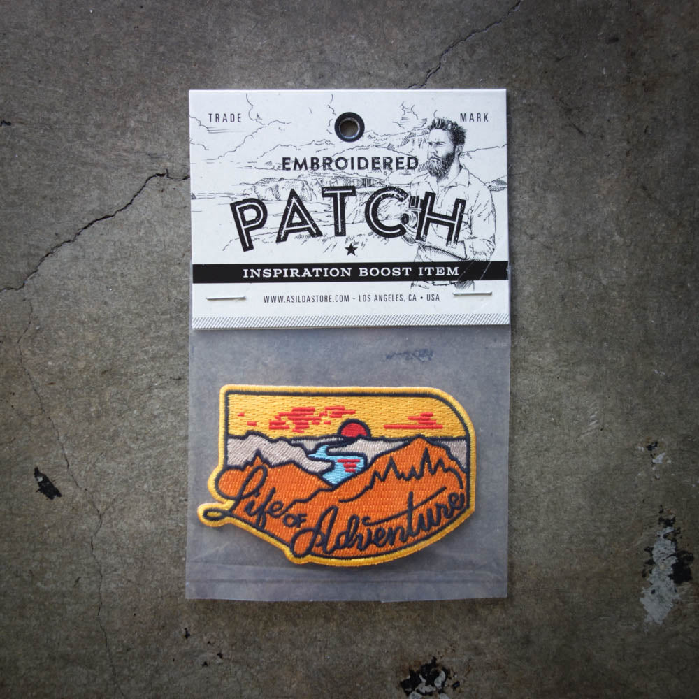 Asilda Patch / Life of Adventure