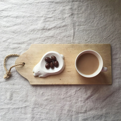 Classiky Porcelain Mini Dish / Bear