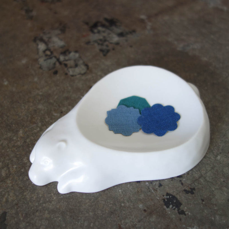 Porcelain Mini Dish / Bear