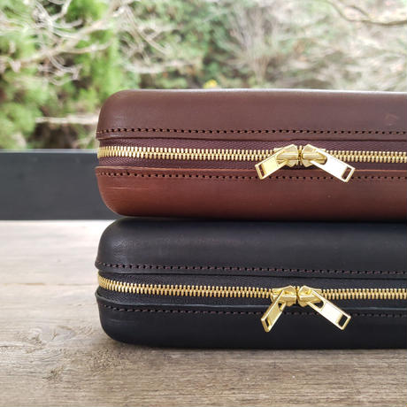Zip Leather Box