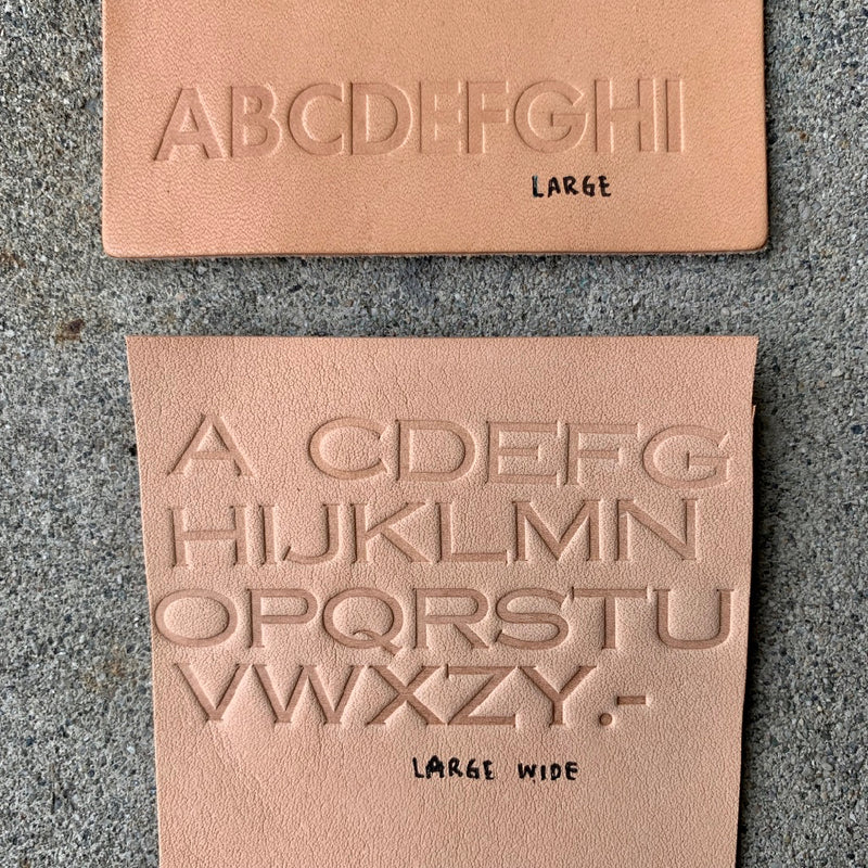 BK Embossing // LARGE Custom Letters