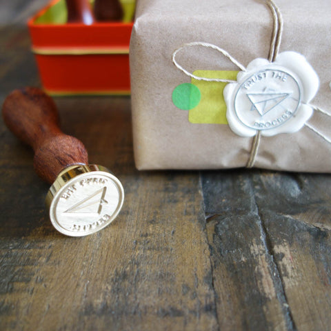 "Wax Seal  ""Trust the Process"""