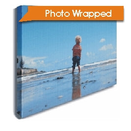 Photo canvas wrap