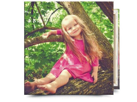 "12"" x 12"" Square Photo Canvas"