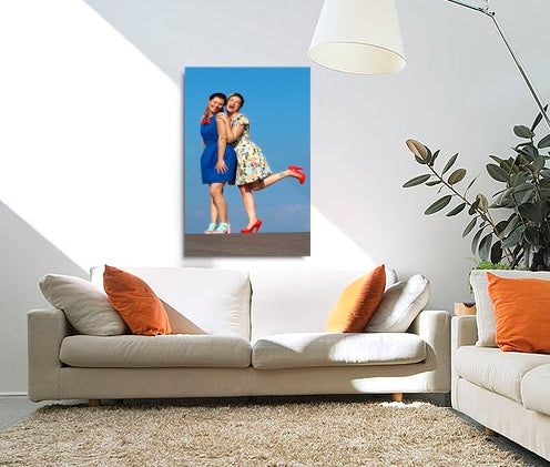 Photo canvas verticle