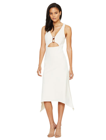 Cut Out Dress by Bec & Bridge with a V neckline