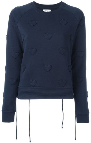 Heart Patch Sweater