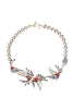 Leaf Crystal Necklace Anton Heunis Jewellery - Another Love