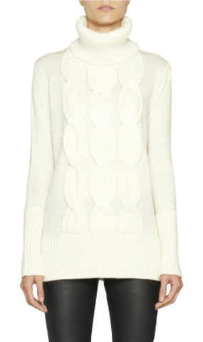Motif Turtleneck Jumper Camilla and Marc Knitwear - Another Love